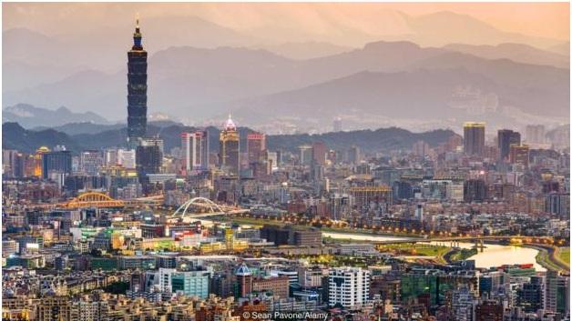 Taiwan congregate in Taipei